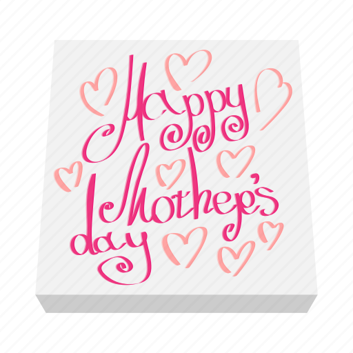 card, cartoon, day, greeting, holiday, love, mother icon