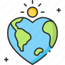 earth, earth day, ecology, planet icon