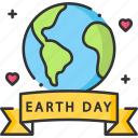earth day, earth globe, ecologism, ecology icon