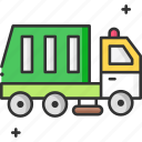 recycling truck, recycling, garbage truck, truck, recycle, trash icon