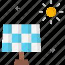 panel, solar, solar energy, solar panel, sun icon