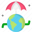 earth, ecology, protect, protection, umbrella