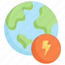 earth day, earth energy, ecology, environment, globe, mother, nature icon