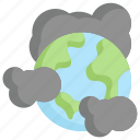 earth day, earth pollution, ecology, environment, globe, mother, nature icon