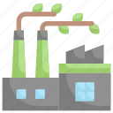 earth day, ecology, environment, environmentally friendly, green factory, mother, nature icon
