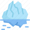 earth day, ecology, environment, glacier, iceberg, mother, nature icon