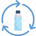 earth day, eco friendly, ecology, environment, mother, nature, plastic bottle recycle icon