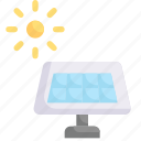 earth day, ecology, environment, mother, nature, solar energy, solar panel icon