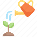earth day, ecology, environment, gardening, mother, nature, watering plant icon