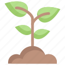 earth day, ecology, environment, mother, nature, plant, sprout icon