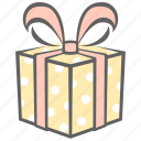 birthday, box, gift, present, surprise icon