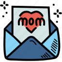 greetings, mothers, day, wishes icon