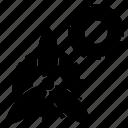 energy, gear, machine, mechanical, motion icon