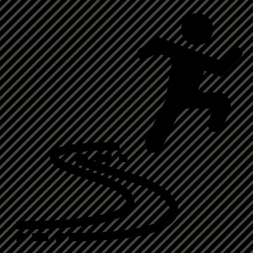 energy, fast, run, speed, velocity icon