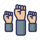 fist, fight, aggression, violence, hand