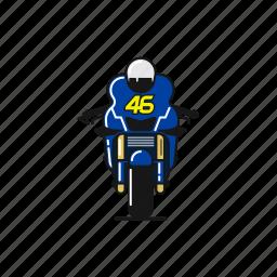bike, legend, motogp, race, valentino rossi, winner, yamaha icon