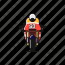 bike, fast, honda, marc marquez, motogp, race, repsol icon