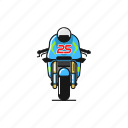 bike, maverick vinales, motogp, race, suzuki icon