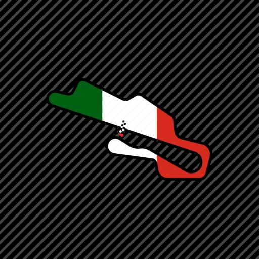 circuit, italian, motogp, mugello, road icon