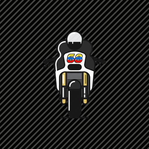 bike, fast, motogp, race, yonny hernandez icon