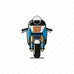 bike, fast, motogp, tito rabat icon