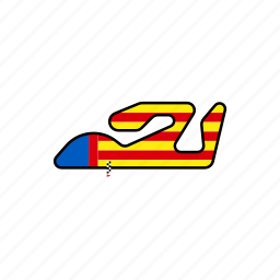 circuit, motogp, race, road, valencia icon