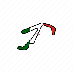 circuit, italia, misano, motogp, race, road, san marino icon