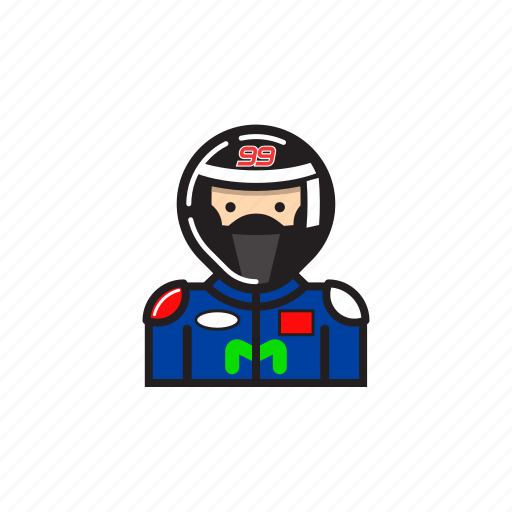 jorge lorenzo, motogp, rider, yamaha icon