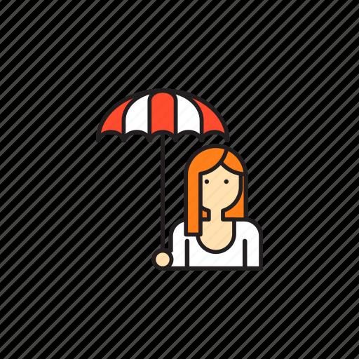 girl, motogp, paddock, sexy, umbrella girl icon