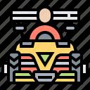 asphalt, formula, motor, racing, sport icon