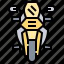 bike, motorbike, motorcycle, racing, vehicle icon