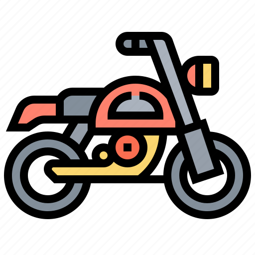 bike, motorbike, motorcycle, ride, vehicle icon