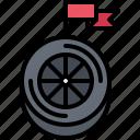 flag, motor, race, racing, sports, wheel, win
