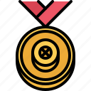 award, medal, motor, race, racing, sports, victory icon
