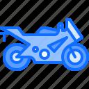 bike, motor, motorcycle, race, racing, sports icon