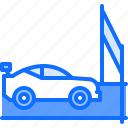 car, finish, motor, race, racing, sports icon