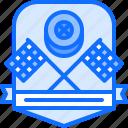 badge, flag, motor, race, racing, sports, wheel icon