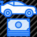 car, money, motor, race, racing, sports icon