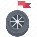 flag, motor, race, racing, sports, wheel, win icon
