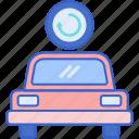 backup, car, transport, vehicle icon