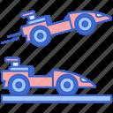 car, daredevil, race, racing, speed icon
