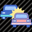 car, crash, demolition, derby icon