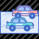car, drag, race, racing icon