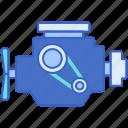 car, engine, service, vehicle icon