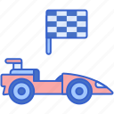 formula, race, racing, sport icon
