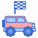 car, off, racing, road, vehicle icon
