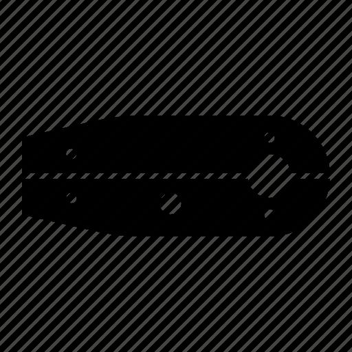 case, chain, cover, guard, motorbike part icon