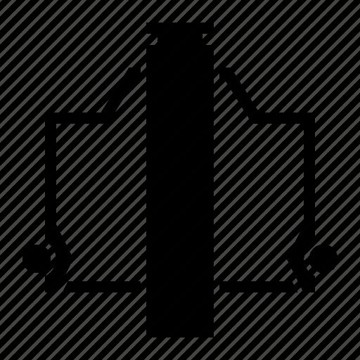 motorbike part, oil seal, valve seal icon