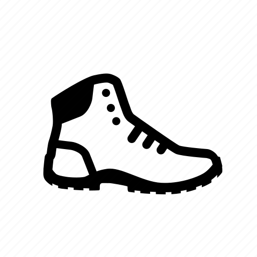 boot, footwear, mountain, outdoor, walking icon