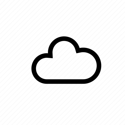 cloud, cloudy, mountain, weather icon